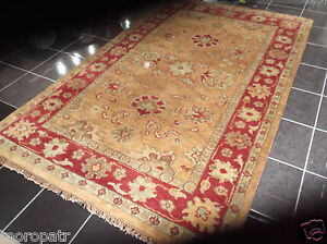 TAJ AGRA, 12' x 9', BRAND NEW, LARGE, HAND-KNOTTED, THICK, PURE WOOL...FREE DEL