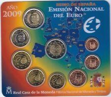 Spain 2009 coin set BU 2 euros EMU / Spanien KMS España Cartera Espagne UEM