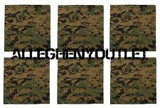 "6 Pack USMC Marine Corps 22"" BANDANA HEADWRAP Woodland Digital Camo Airsoft"