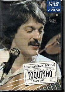 TOQUINHO -  I CONCERTI LIVE @ RTSI 8 GIUGNO 1983 - DVD NUOVO SIGILLATO RARO