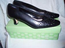 "Woman's 9 M Black Madeline Stuart 2"" High Heel Pump Shoes NIB Nice Design!"