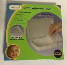 Dexbaby Travel Wipe Warmer Take It Anywhere Includes Home&Car Adaptor Brand New