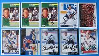 LOT OF 10 STEVEN RICE SIGNED HOCKEY CARDS ~ 100% GUARANTEE
