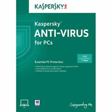 Kaspersky Anti-Virus (2013) 1-User