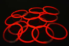 DirectGlow 200ct Red Glow Bracelets Glow in The Dark Party Favors
