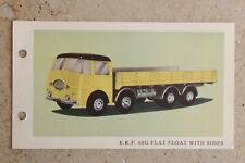 TRIANG SPOT ON 109/3 ERF FLAT FLOAT WITH SIDES COLLECTORS CARD ONLY vgc1960s
