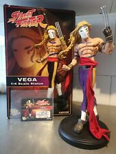 Pop Culture Shock Street Fighter Vega Regular With Custom Metal Claw PCS Statue