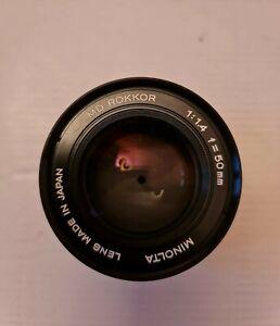 Minolta MD Rokkor 1:1.4 f=50mm Objektiv