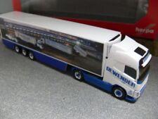 1/87 Herpa Volvo FH GL. XL maleta de refrigeración-remolcarse dewender 303484