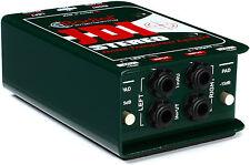 Radial JDI Stereo Passive Direct Box W/ Jensen Transformer JDISTEREO  R800 1012