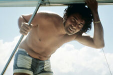ENGELBERT HUMPERDINCK 24X36 POSTER BARE CHESTED HUNKY ON BOAT