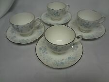 Wedgwood Belle Fleur - R4356 - Set of 4 Cups and Saucers