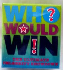 Who would Win! The Ultimate Celebrity Showdown Card Game for 3 or more players