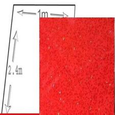 1M WIDE RED SPARKLE  pvc shower wall panels 10mm thick 2400 long