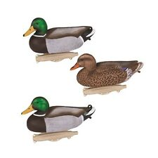 Flambeau Mallard Duck Decoys 12 Pack Hunting Drakes Hens Waterfowl Hunt Outdoor