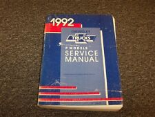 1992 Chevy P-Series Motorhome Forward Control Chassis Shop Service Repair Manual