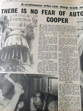 68-4 ephemera 1964 Full Page Article Rodion Hill Brewer's Cooper Margate
