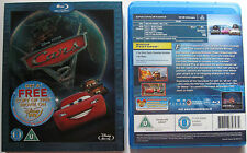 DISNEY PIXAR CARS 2 BLURAY SLIPCASE - UK ALL REGIONS