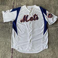 Majestic MLB New York Mets David Wright Baseball Jersey Mens Large