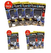 2 x Ever Brite Led Outdoor Light-AS ON TV Everbrite Solar Powered & Wireless