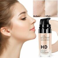 Face Liquid Base Foundation BB Cream Concealer Whitening Moisturizer Oil-control