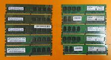 ⭐️⭐️⭐️⭐️⭐️ Lot of 10 1GB DDR2 PC2-6400 800 RAM Desktop Memory Cards
