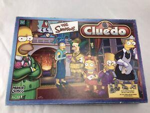 Cluedo The Simpsons - Jeu de société Rare Hasbro