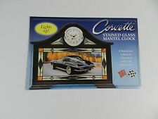 Danbury Mint 1955 1960 1963 1969 CORVETTE STAINED GLASS CLOCK Brochure Pamphlet