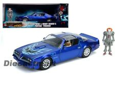 Jada 1:24 Hollywood Rides Pennywise & Henry Bower's Pontiac Firebird 31118 Blue