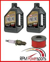 Honda 400EX Tune Up Kit Engine Oil Change NGK Spark Plug Oil Filter TRX400EX