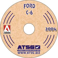 Ford C6 Automatic Transmission ATSG Workshop Manual