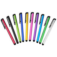 10X HOT Metal Universal Touch Screen Stylus Pen for Android Pad Phone PC Tablet