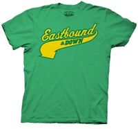 Adult Green Eastbound and Down Charros Kenny Powers 55 Jersey T-shirt Tee