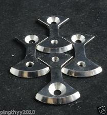 J&L Titanium/Ti Pedal Plate/Bowtie* 4pcs fit SpeedPlay Zero&Light Action