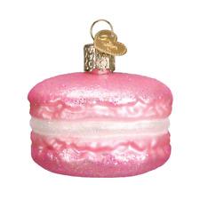 Old World Christmas PINK MACARON (32242)N Glass Ornament w/OWC Box