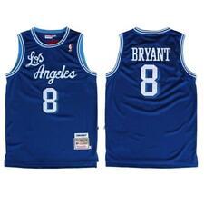 Kobe Bryant Los Angeles Lakers 8 BLUE NBA Basketball Swingman Jersey shirt