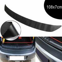 universal sill schurke auf 3d - kohlefaser auto - aufkleber kofferraum schutz.