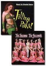 Jillina Belly Dance Music CD Set