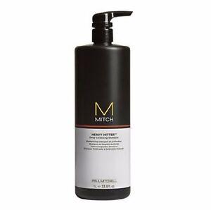 Paul Mitchell - Mitch Heavy Hitter  Deep Cleansing Shampoo 33.8 oz