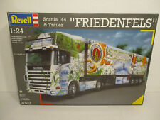 Revell 1 : 24 07537 Scania 144 & Trailer FRIEDENFELS  NEU / OVP