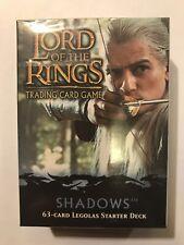 LEGOLAS starter deck SHADOWS Lord of the Rings CCG TCG DECIPHER