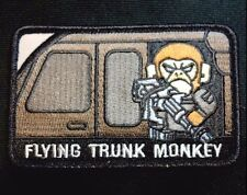 FLYING TRUNK MONKEY ARMY USA ISAF TACTICAL SWAT HOOK PATCH