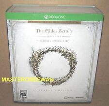 Xbox One The Elder Scrolls Online Tamriel Unlimited Imperial Edition New + DLC