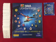 Panini Mexican League Apertura 2016 Mexico Stickers Set + Empty Album + Packet