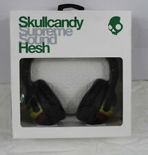 New Skullcandy HESH Over the Ear Headphones Black Rasta