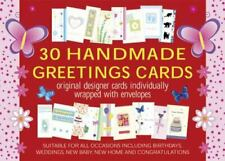 30 Handmade Greetings Cards : Original Designer Cards Individually Warpped with Envelopes by Peony Press (2015, Merchandise, Other)