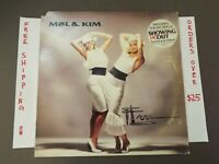 "MEL & KIM FLM 1ST PRESS PROMO LP W/ ""SHOWING OUT"" HYPE STICKER 81739-1"
