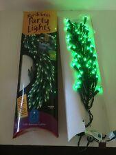 One Bethlehem Lighting GKI Mardi Gras Party Lights 100 Green Christmas
