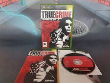 True Crime Streets Of La (Xbox 2003) Cib Complet Avec Boîte