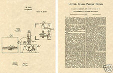 1855 SINGER SEWING MACHINE US Patent Art Print READY TO FRAME Isaac Vintage